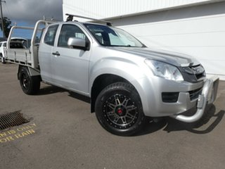 2014 Isuzu D-MAX MY15 SX Space Cab Silver 5 Speed Sports Automatic Cab Chassis.