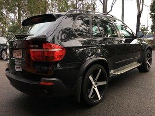 2009 BMW X5 E70 MY10 xDrive35d Steptronic Individual Metallic Black 6 Speed Sports Automatic Wagon.