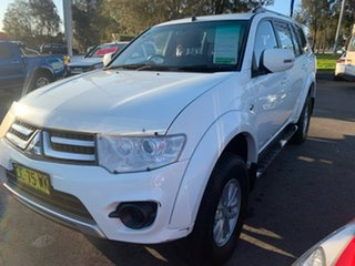 2015 Mitsubishi Challenger PC (KH) MY14 White 5 Speed Manual Wagon