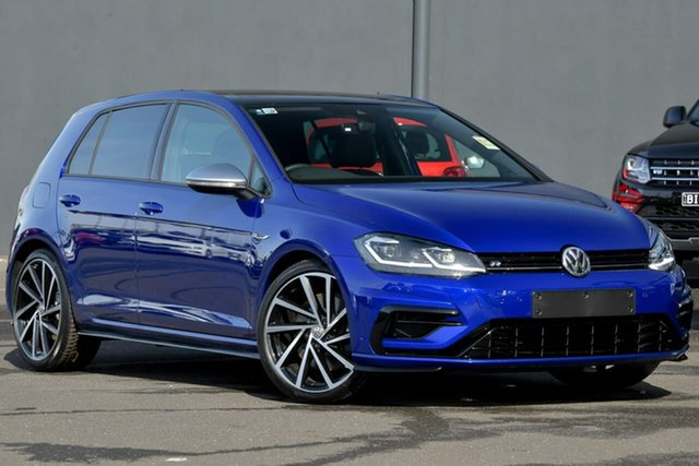 New Volkswagen Golf 7.5 MY20 R DSG 4MOTION, 2020 Volkswagen Golf 7.5 MY20 R DSG 4MOTION Blue 7 Speed Sports Automatic Dual Clutch Hatchback