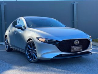 2019 Mazda 3 BP2H7A G20 SKYACTIV-Drive Touring Sonic Silver 6 Speed Automatic Hatchback.