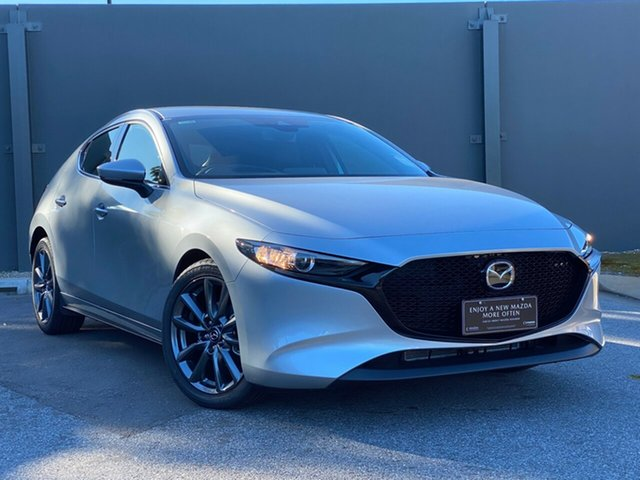 Demo Mazda 3 BP2H7A G20 SKYACTIV-Drive Touring Hindmarsh, 2019 Mazda 3 BP2H7A G20 SKYACTIV-Drive Touring Sonic Silver 6 Speed Automatic Hatchback