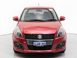 2016 Suzuki Swift FZ Sport Navigator Red 7 Speed CVT Auto Sequential Hatchback.
