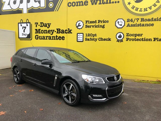Used Holden Commodore VF II MY17 SS Sportwagon, 2017 Holden Commodore VF II MY17 SS Sportwagon Black 6 Speed Sports Automatic Wagon