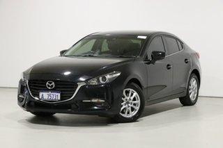 2017 Mazda 3 BN MY17 Touring Black 6 Speed Automatic Sedan.