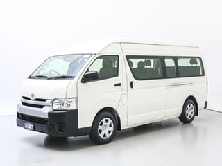 2014 Toyota HiAce KDH223R MY14 Commuter White Bus.