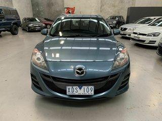 2009 Mazda 3 BL10F1 Maxx Sport Blue 6 Speed Manual Hatchback.