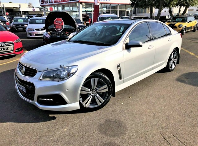 Used Holden Commodore VF MY14 SV6, 2013 Holden Commodore VF MY14 SV6 Silver 6 Speed Manual Sedan