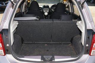 2010 Nissan Micra K13 TI LA Lilac 4 Speed Automatic Hatchback