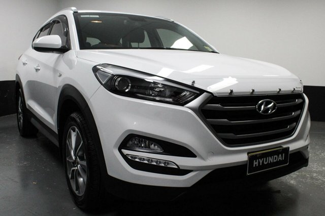 Used Hyundai Tucson TL MY18 Active X 2WD, 2017 Hyundai Tucson TL MY18 Active X 2WD White 6 Speed Sports Automatic Wagon