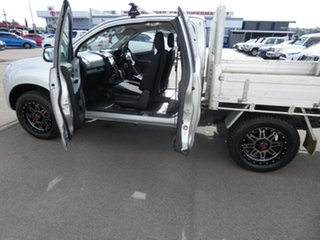 2014 Isuzu D-MAX MY15 SX Space Cab Silver 5 Speed Sports Automatic Cab Chassis