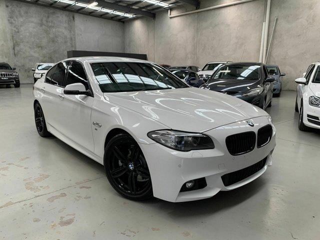 Used BMW 520i F10 LCI M Sport Steptronic, 2014 BMW 520i F10 LCI M Sport Steptronic White 8 Speed Sports Automatic Sedan