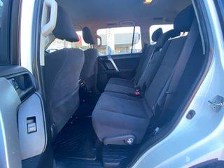 2015 Toyota Landcruiser Prado GXL Glacier White Manual Wagon