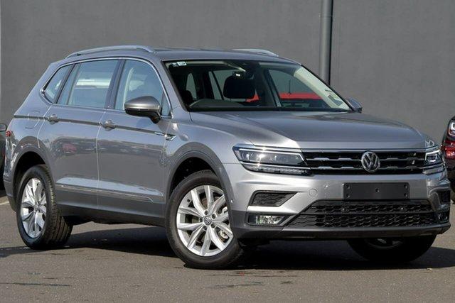 New Volkswagen Tiguan 5N MY20 132TSI Comfortline DSG 4MOTION Allspace, 2020 Volkswagen Tiguan 5N MY20 132TSI Comfortline DSG 4MOTION Allspace Silver 7 Speed
