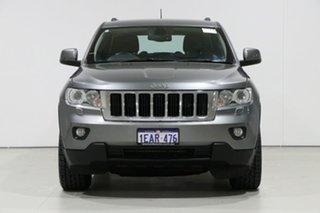 2012 Jeep Grand Cherokee WK MY12 Laredo (4x4) Grey 5 Speed Automatic Wagon.