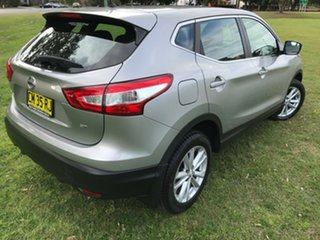 2017 Nissan Qashqai J11 ST Silver 1 Speed Constant Variable Wagon