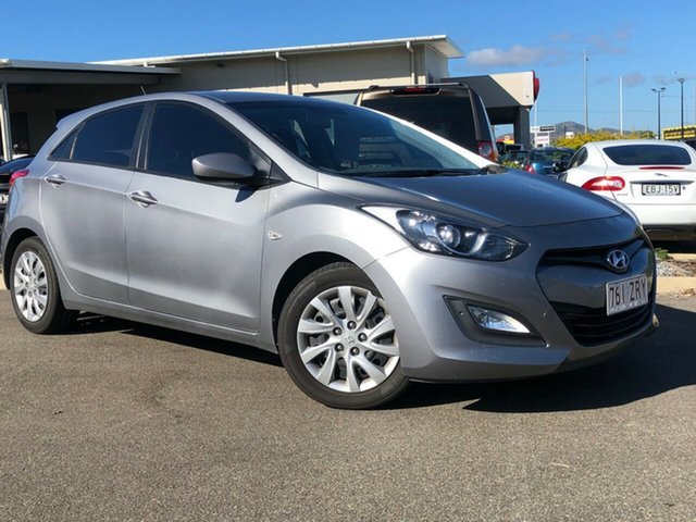 Used Hyundai i30 GD2 Active, 2013 Hyundai i30 GD2 Active Silver 6 Speed Sports Automatic Hatchback