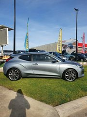 2019 Hyundai Veloster JS MY20 Coupe Lake Silver 6 Speed Automatic Hatchback