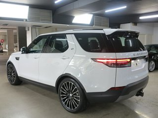 2019 Land Rover Discovery Series 5 L462 MY19 SD4 SE Fuji White 8 Speed Sports Automatic Wagon