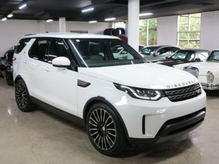 2019 Land Rover Discovery Series 5 L462 MY19 SD4 SE Fuji White 8 Speed Sports Automatic Wagon.