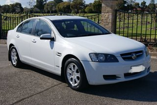 2010 Holden Commodore VE MY10 Omega White 6 Speed Automatic Sedan.