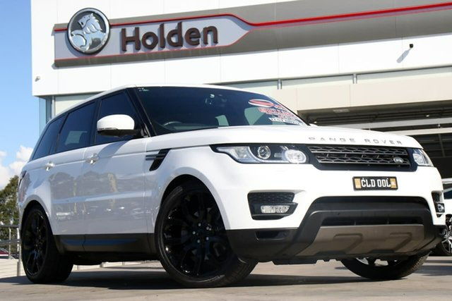 Used Land Rover Range Rover Sport L494 16MY TDV6 SE, 2015 Land Rover Range Rover Sport L494 16MY TDV6 SE Fuji White 8 Speed Sports Automatic Wagon