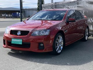 2010 Holden Commodore VE II SS V Redline Red 6 Speed Sports Automatic Sedan