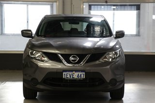 2015 Nissan Qashqai J11 ST Grey Continuous Variable Wagon.