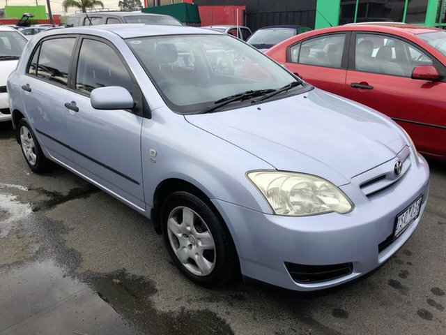 Used Toyota Corolla ZZE122R 5Y Ascent Sport, 2007 Toyota Corolla ZZE122R 5Y Ascent Sport Blue 4 Speed Automatic Hatchback