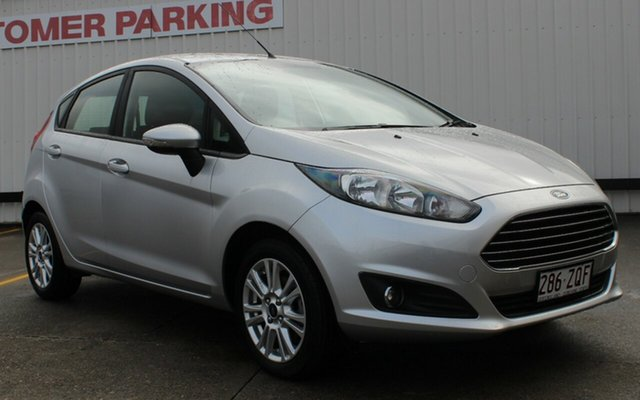 Used Ford Fiesta WZ Trend PwrShift, 2014 Ford Fiesta WZ Trend PwrShift Silver 6 Speed Sports Automatic Dual Clutch Hatchback