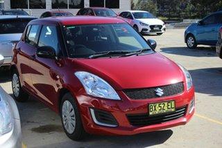 2013 Suzuki Swift FZ GA Red 4 Speed Automatic Hatchback.