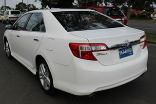 2013 Toyota Camry ASV50R Atara S White 6 Speed Sports Automatic Sedan
