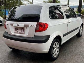 2008 Hyundai Getz TB MY09 SX White 4 Speed Automatic Hatchback