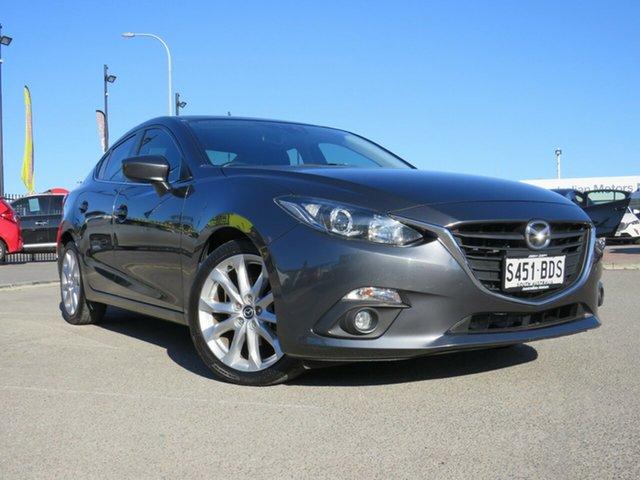Used Mazda 3 BM5238 SP25 SKYACTIV-Drive, 2014 Mazda 3 BM5238 SP25 SKYACTIV-Drive Grey 6 Speed Sports Automatic Sedan