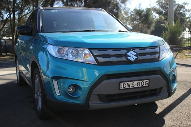 Used Suzuki Vitara LY RT-S 2WD, 2018 Suzuki Vitara LY RT-S 2WD Blue 6 Speed Sports Automatic Wagon