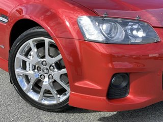 2010 Holden Commodore VE II SS V Redline Red 6 Speed Sports Automatic Sedan.