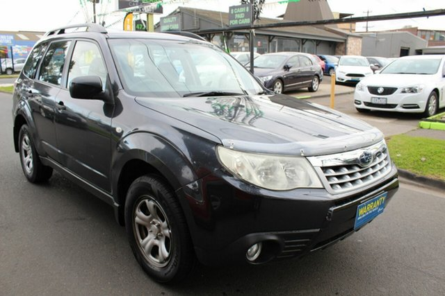 Used Subaru Forester S3 MY12 X AWD West Footscray, 2012 Subaru Forester S3 MY12 X AWD Grey 4 Speed Sports Automatic Wagon