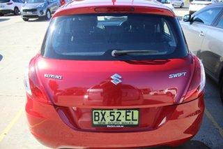 2013 Suzuki Swift FZ GA Red 4 Speed Automatic Hatchback