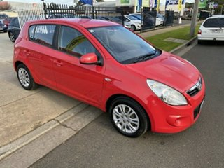 2011 Hyundai i20 PB MY11 Active Red 4 Speed Automatic Hatchback.