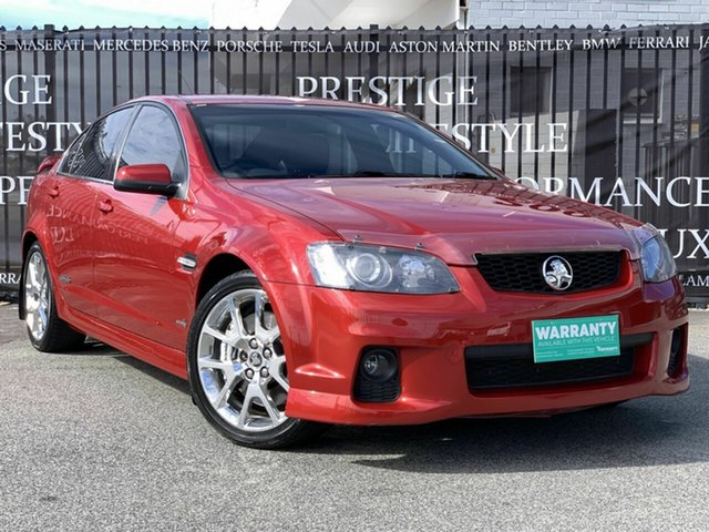 Used Holden Commodore VE II SS V Redline, 2010 Holden Commodore VE II SS V Redline Red 6 Speed Sports Automatic Sedan