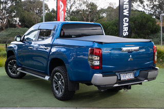 2020 Mitsubishi Triton MR MY20 GLS Double Cab Impulse Blue 6 Speed Sports Automatic Utility