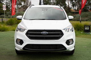 2019 Ford Escape ZG 2019.75MY ST-Line AWD White 6 Speed Sports Automatic Wagon
