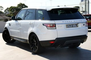 2015 Land Rover Range Rover Sport L494 16MY TDV6 SE Fuji White 8 Speed Sports Automatic Wagon.