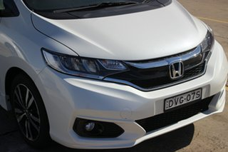 2017 Honda Jazz GF MY18 VTi-L White 1 Speed Constant Variable Hatchback.