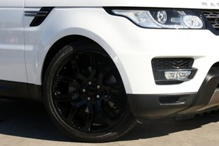 2015 Land Rover Range Rover Sport L494 16MY TDV6 SE Fuji White 8 Speed Sports Automatic Wagon