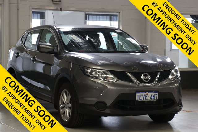 Used Nissan Qashqai J11 ST, 2015 Nissan Qashqai J11 ST Grey Continuous Variable Wagon