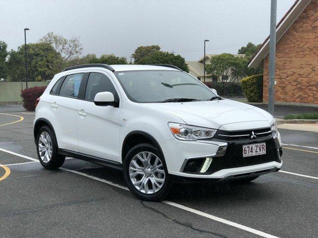 Used Mitsubishi ASX XC MY19 ES 2WD, 2019 Mitsubishi ASX XC MY19 ES 2WD White 1 Speed Constant Variable Wagon
