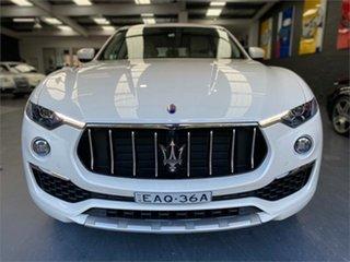 2019 Maserati Levante M161 GranLusso Bianco White Sports Automatic Wagon.