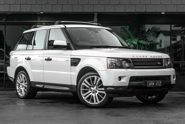 Used Land Rover Range Rover Sport L320 11MY TDV6, 2010 Land Rover Range Rover Sport L320 11MY TDV6 White 6 Speed Sports Automatic Wagon