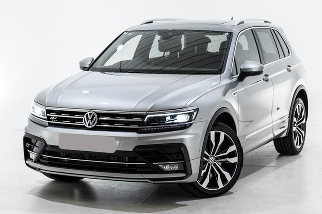 Used Volkswagen Tiguan 5N MY19.5 162TSI DSG 4MOTION Highline, 2019 Volkswagen Tiguan 5N MY19.5 162TSI DSG 4MOTION Highline Silver 7 Speed
